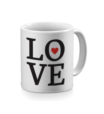 Mugs message d'amour