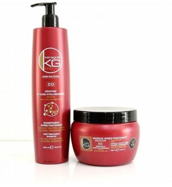 Keragold KG kératine Shampoing Masque PRO - flowersmaroc.com