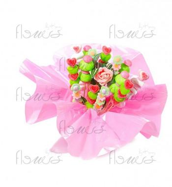 Bouquet de bonbons, le SUCRERIE
